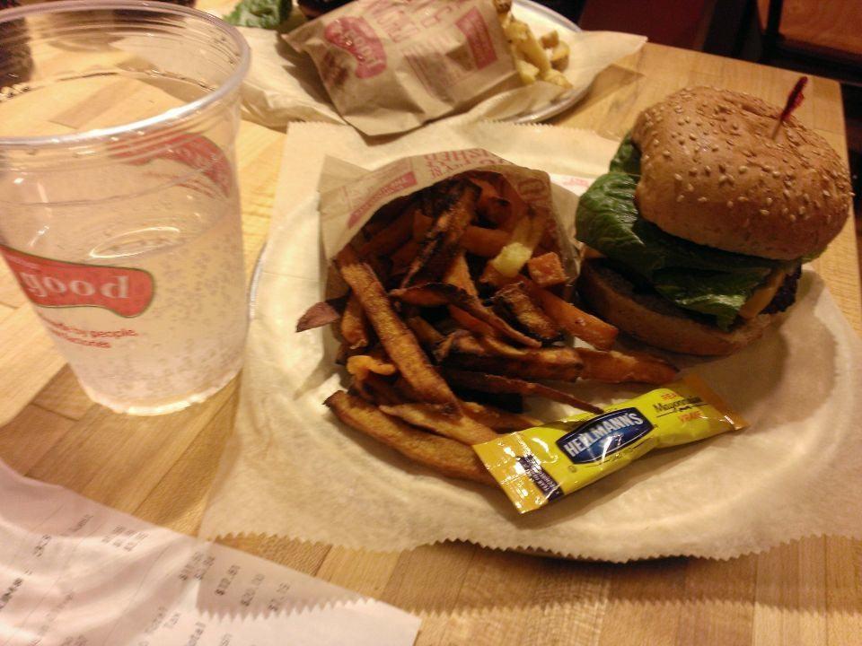 Boston first dinner