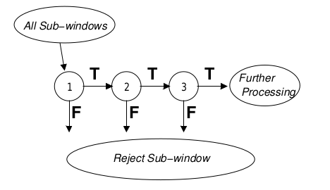 schematic of detection cascade