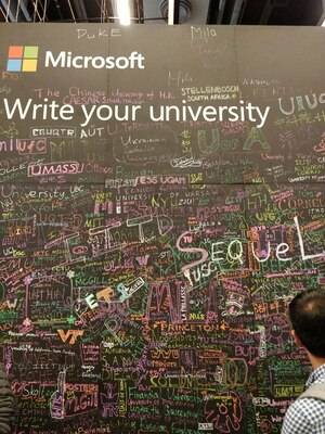 Microsoft board to write your university